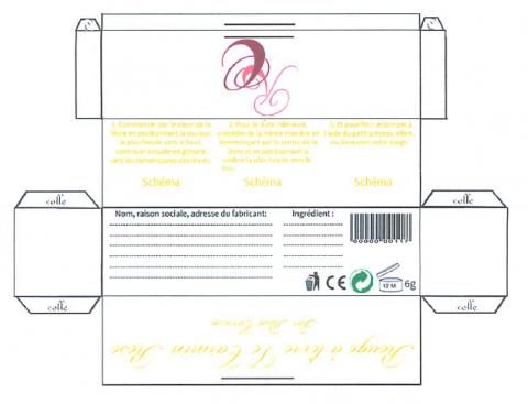 Patron packaging (étudiantes école esthétique Montpellier)