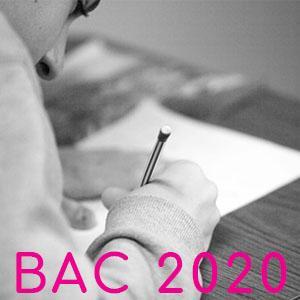 Bac 2020 contrôle continu
