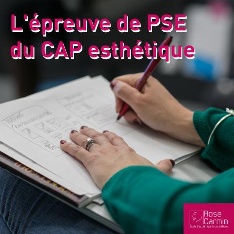 l'épreuve de PSE au CAP