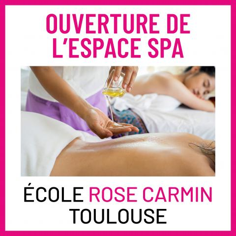 BTS ESTHETIQUE SPA ROSE CARMIN TOULOUSE