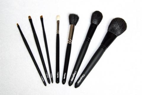 pinceaux maquillage Rose Carmin