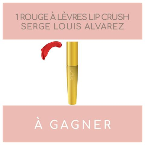concours maquillage rose carmin