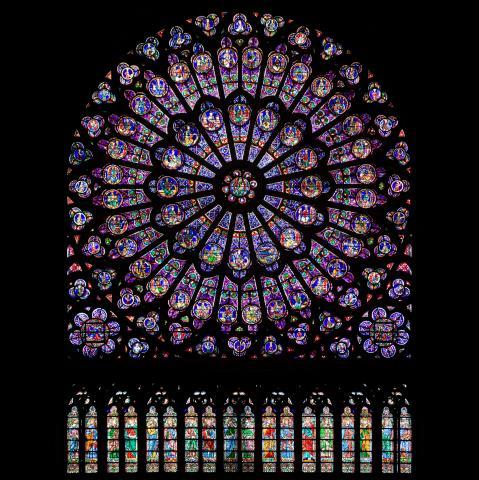 Notre-Dame-RosaceNord-by-Julie Anne Workman